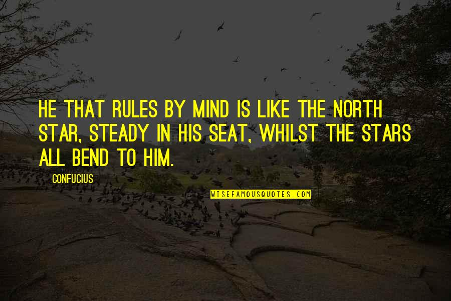 Pierson Quotes By Confucius: He that rules by mind is like the