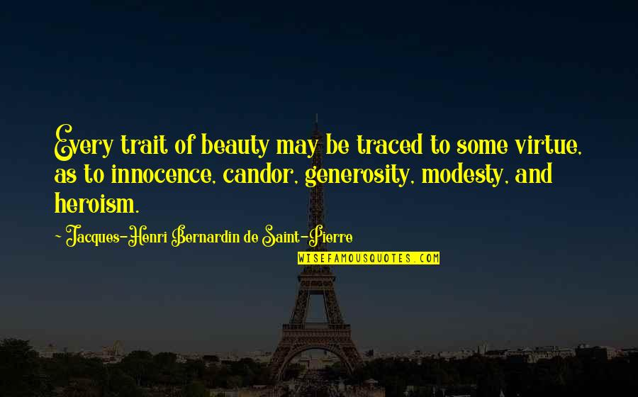 Pillowcases Quotes By Jacques-Henri Bernardin De Saint-Pierre: Every trait of beauty may be traced to