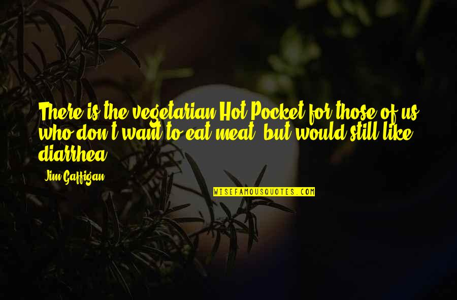 Pockets Quotes By Jim Gaffigan: There is the vegetarian Hot Pocket for those