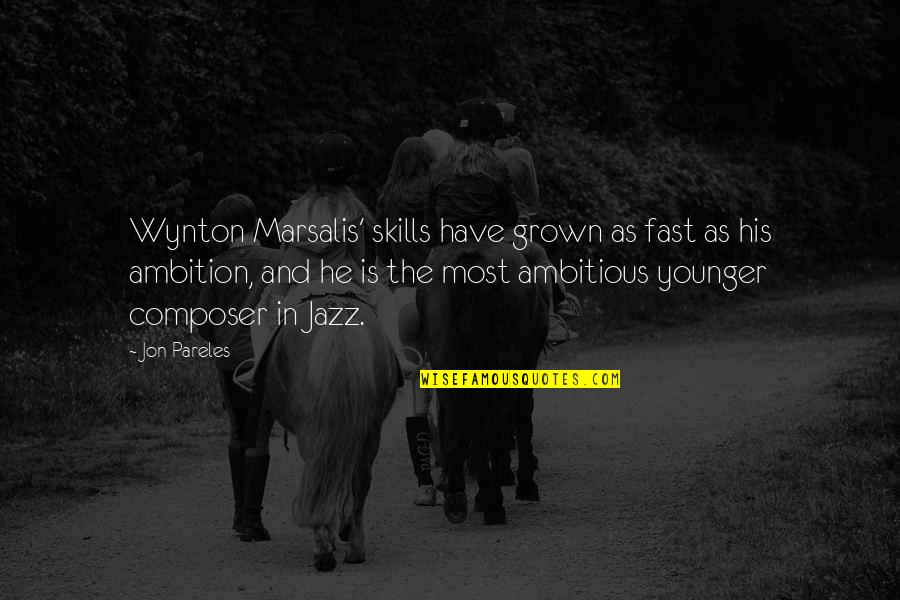 Postgresql Json Escape Quotes By Jon Pareles: Wynton Marsalis' skills have grown as fast as