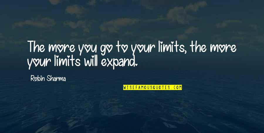 Powershell Parameter Quotes By Robin Sharma: The more you go to your limits, the