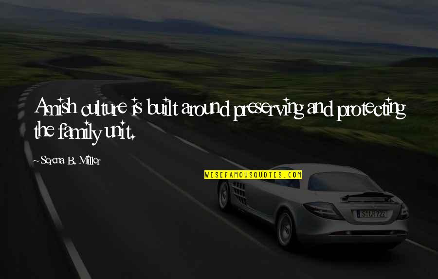 Preserving Quotes By Serena B. Miller: Amish culture is built around preserving and protecting
