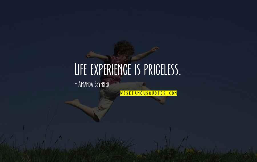 Priceless Experience Quotes Top 9 Famous Quotes About Priceless
