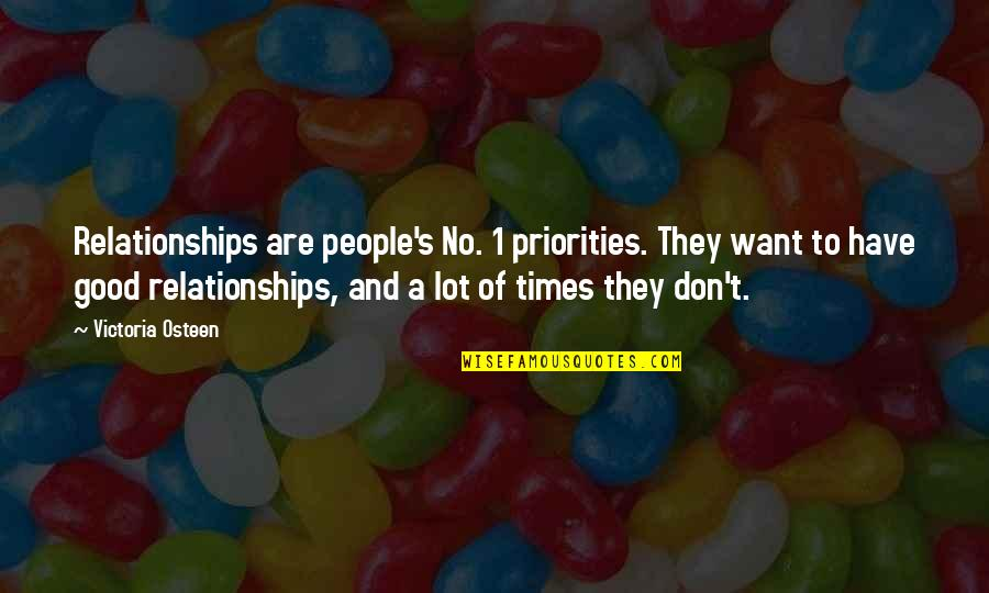 Priorities In Relationships Quotes Top 6 Famous Quotes About