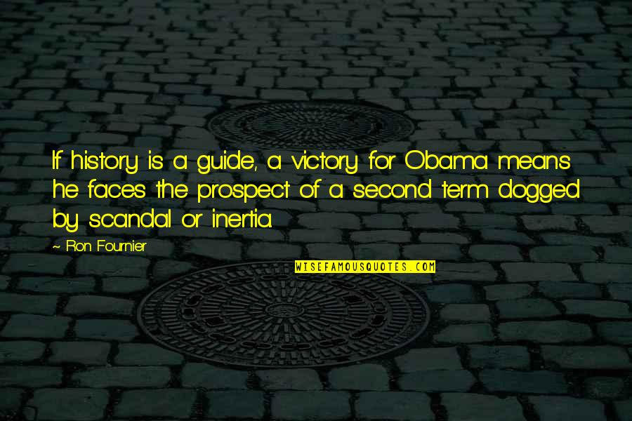 Prospect Quotes By Ron Fournier: If history is a guide, a victory for