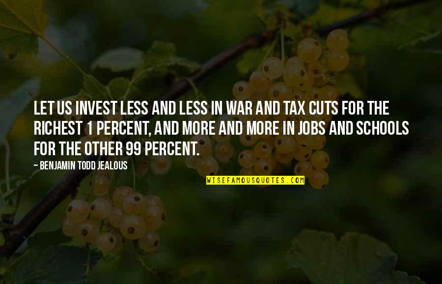 Prudential Auto Insurance Quotes By Benjamin Todd Jealous: Let us invest less and less in war