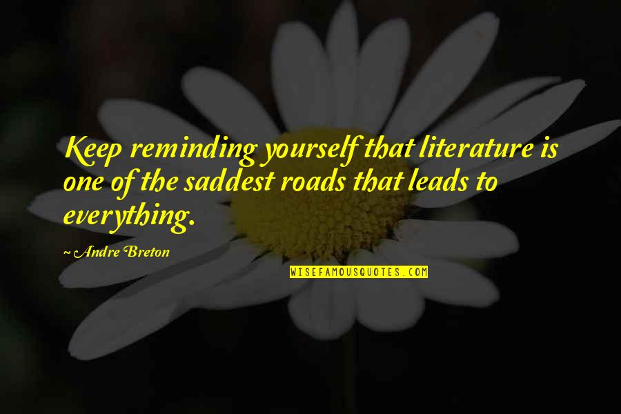 Purdue Owl Integrating Quotes By Andre Breton: Keep reminding yourself that literature is one of