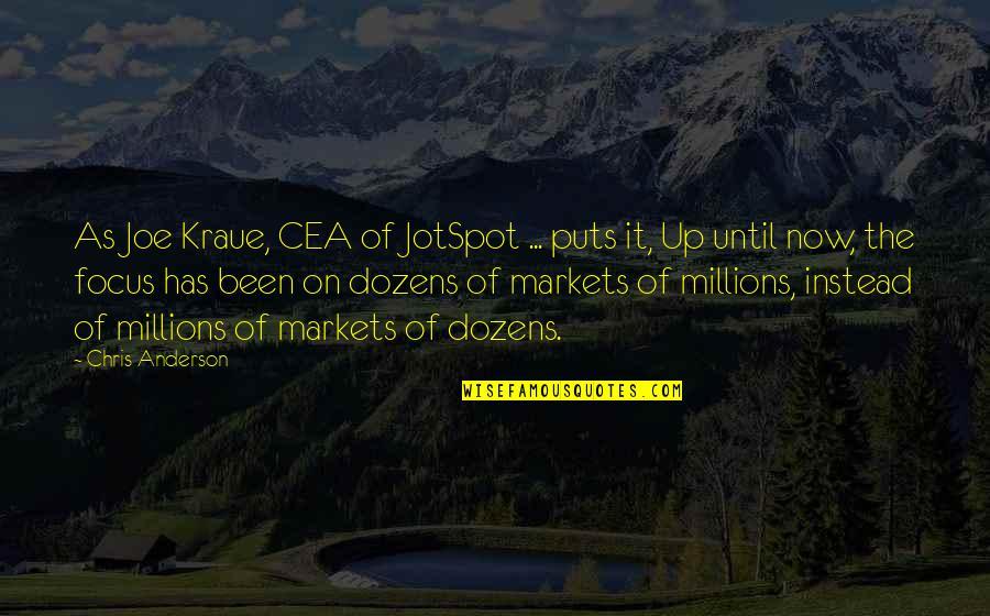 Puts Quotes By Chris Anderson: As Joe Kraue, CEA of JotSpot ... puts