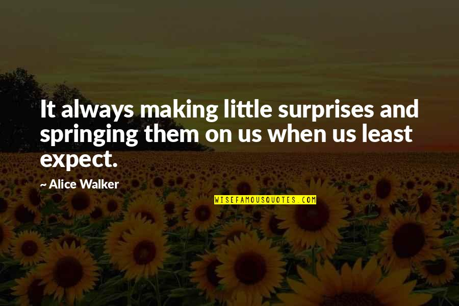 Python Encode Double Quotes By Alice Walker: It always making little surprises and springing them