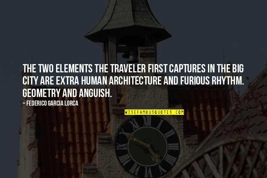 Python Encode Double Quotes By Federico Garcia Lorca: The two elements the traveler first captures in