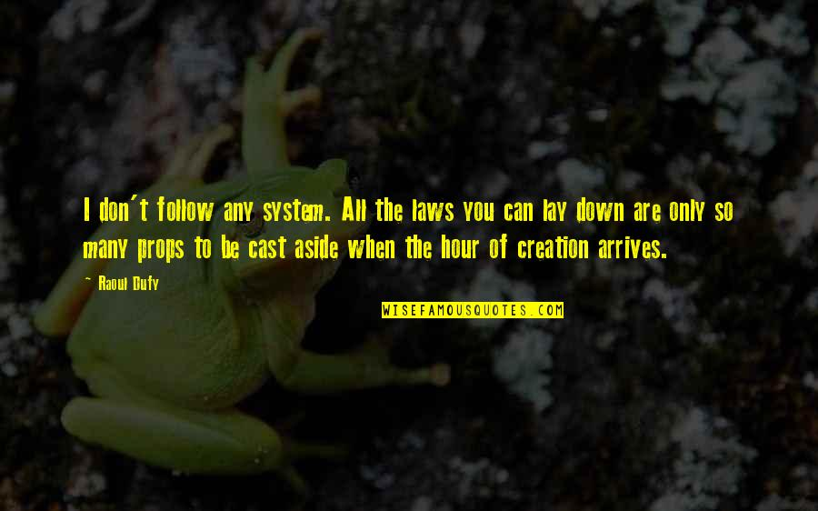 Python Encode Double Quotes By Raoul Dufy: I don't follow any system. All the laws