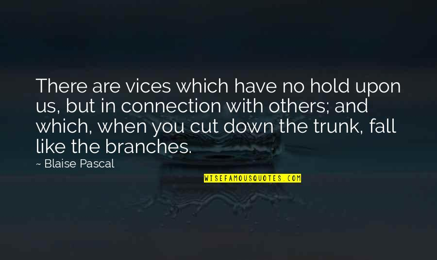 Quotes Hidup Lucu Quotes By Blaise Pascal: There are vices which have no hold upon