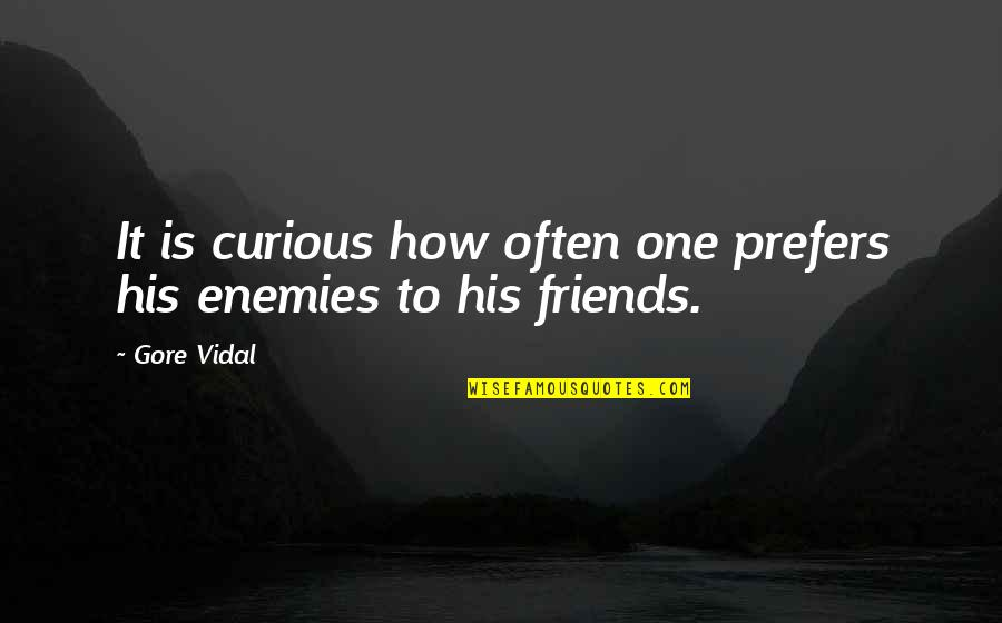 R Gsub Replace Quotes By Gore Vidal: It is curious how often one prefers his
