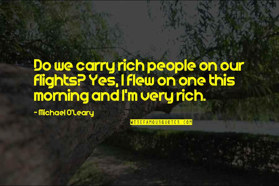 R Gsub Replace Quotes By Michael O'Leary: Do we carry rich people on our flights?