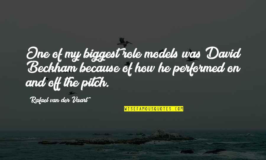 Rafael Van Der Vaart Quotes By Rafael Van Der Vaart: One of my biggest role models was David