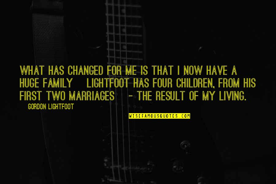 Raghnaid Quotes By Gordon Lightfoot: What has changed for me is that I