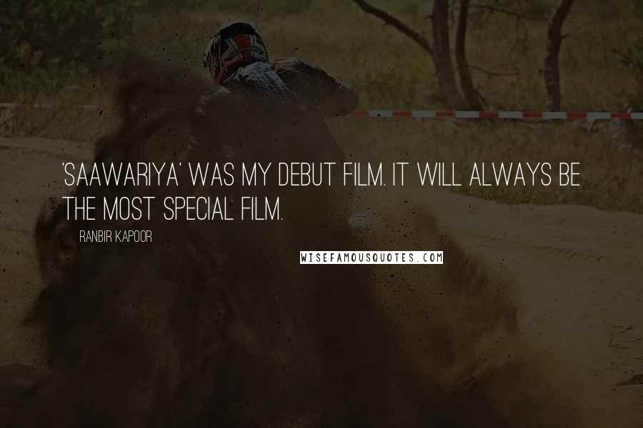 Ranbir Kapoor quotes: 'Saawariya' was my debut film. It will always be the most special film.