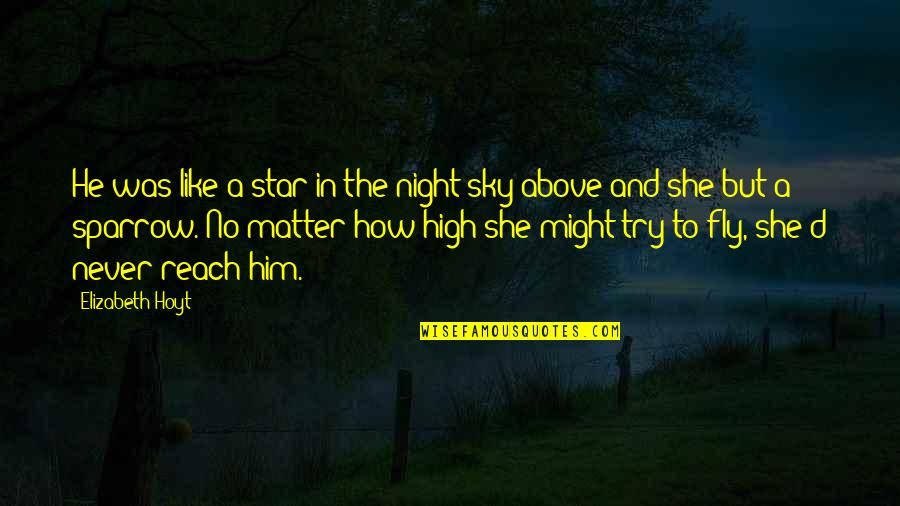 Reach'd Quotes By Elizabeth Hoyt: He was like a star in the night