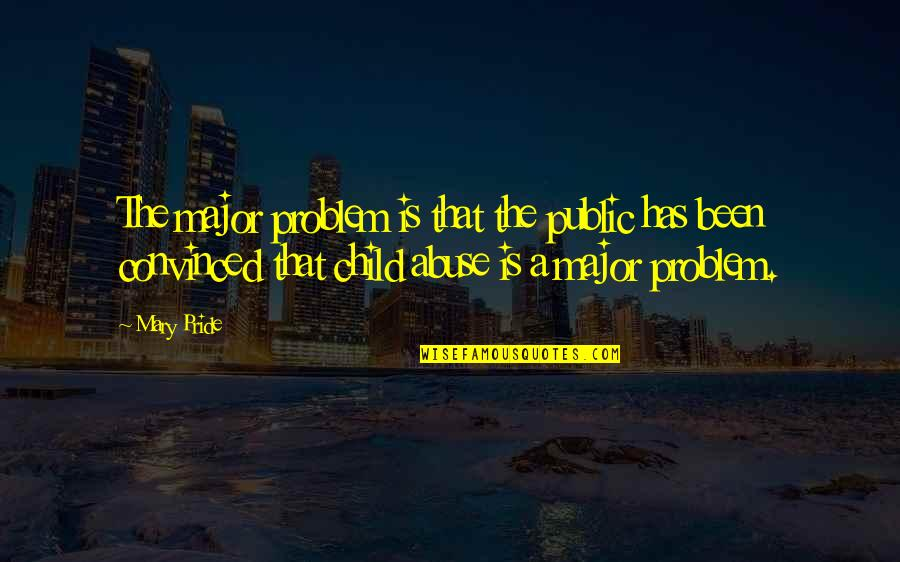 Reading Books Pinterest Quotes By Mary Pride: The major problem is that the public has