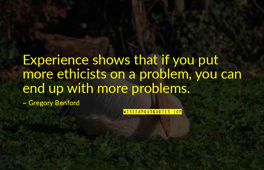 Real Time Forex Quotes By Gregory Benford: Experience shows that if you put more ethicists