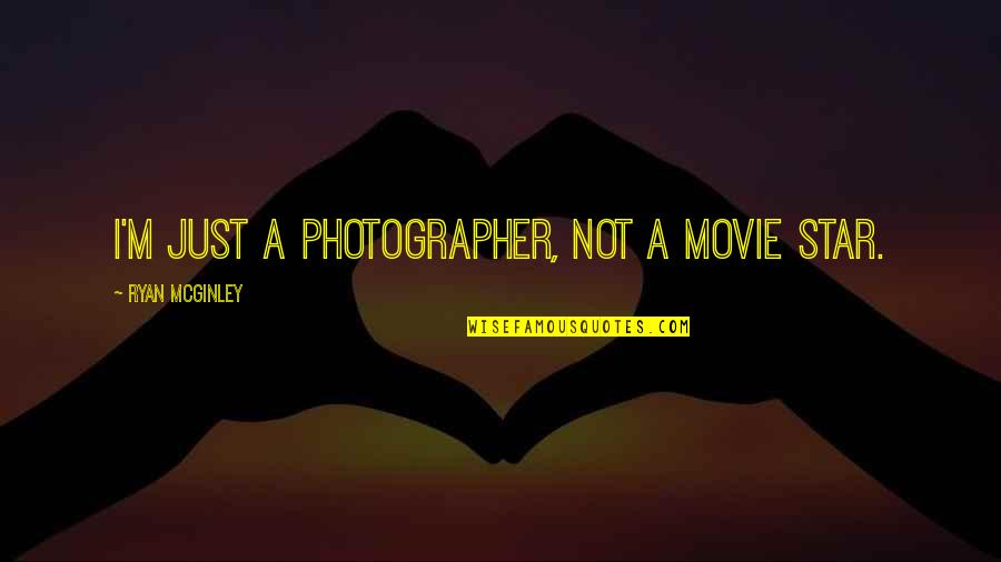 Real Time Forex Quotes By Ryan McGinley: I'm just a photographer, not a movie star.