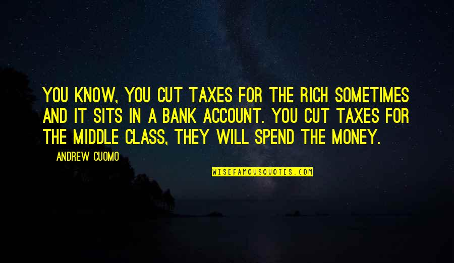 Red Alert Conscript Quotes By Andrew Cuomo: You know, you cut taxes for the rich