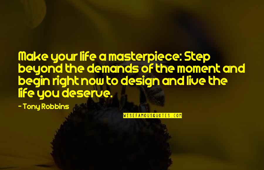 Reddit Creepy Kid Quotes By Tony Robbins: Make your life a masterpiece: Step beyond the
