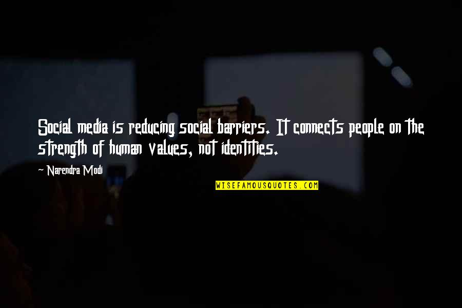 Reducing Quotes By Narendra Modi: Social media is reducing social barriers. It connects