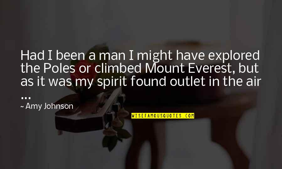 Reenie's Quotes By Amy Johnson: Had I been a man I might have