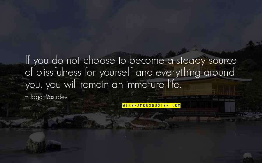 Remain Yourself Quotes By Jaggi Vasudev: If you do not choose to become a