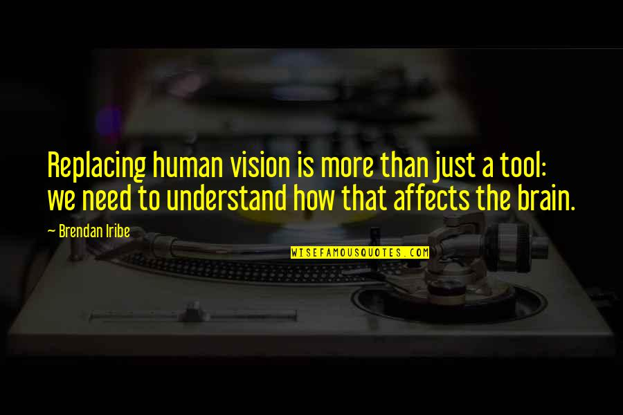 Replacing Quotes By Brendan Iribe: Replacing human vision is more than just a