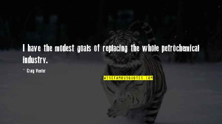 Replacing Quotes By Craig Venter: I have the modest goals of replacing the