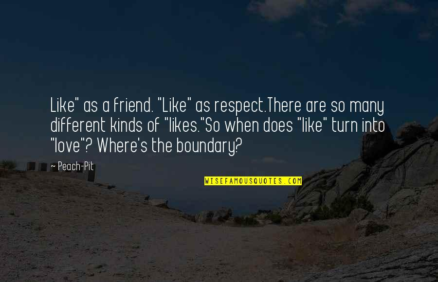 """Respect Best Friend Quotes By Peach-Pit: Like"""" as a friend. """"Like"""" as respect.There are"""