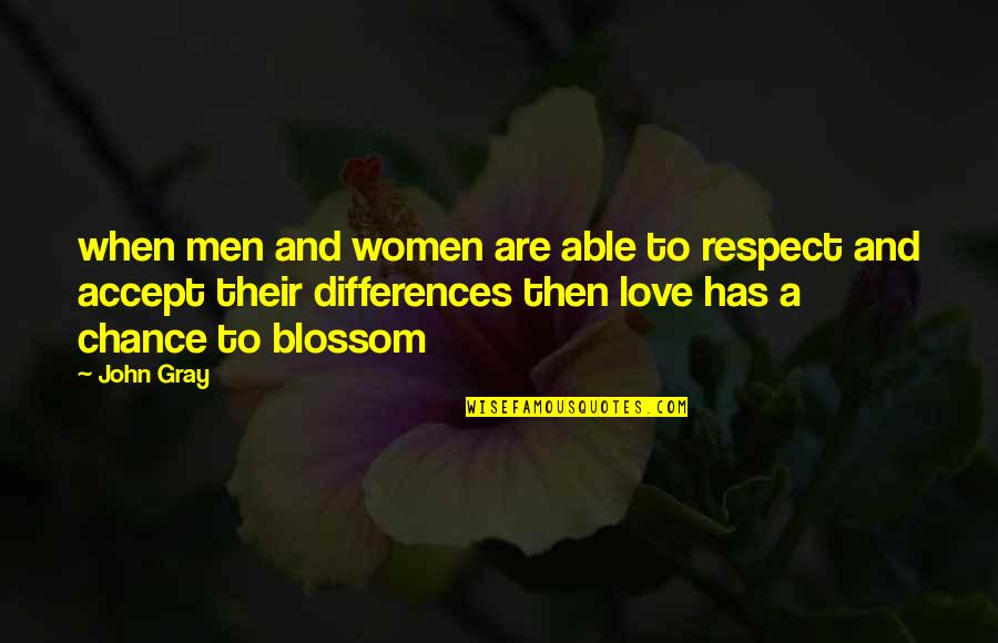 Respect Without Love Quotes By John Gray: when men and women are able to respect