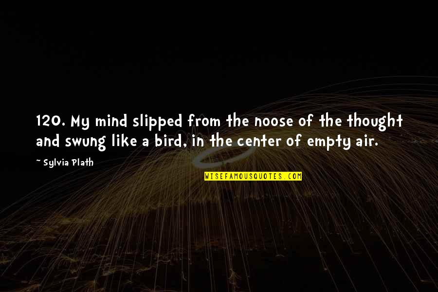 Resting Head On Shoulder Quotes By Sylvia Plath: 120. My mind slipped from the noose of