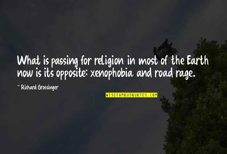 Richard Grossinger Quotes By Richard Grossinger: What is passing for religion in most of