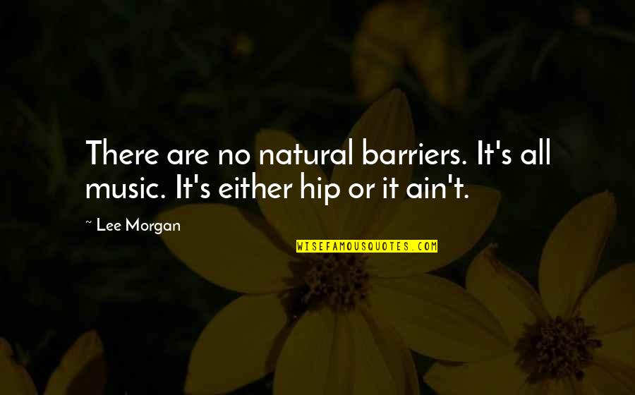 Rina's Quotes By Lee Morgan: There are no natural barriers. It's all music.