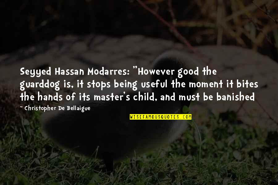 """Rn To Bsn Quotes By Christopher De Bellaigue: Seyyed Hassan Modarres: """"However good the guarddog is,"""