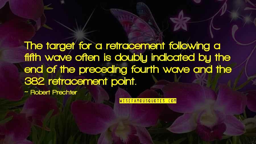 Robert Prechter Quotes By Robert Prechter: The target for a retracement following a fifth