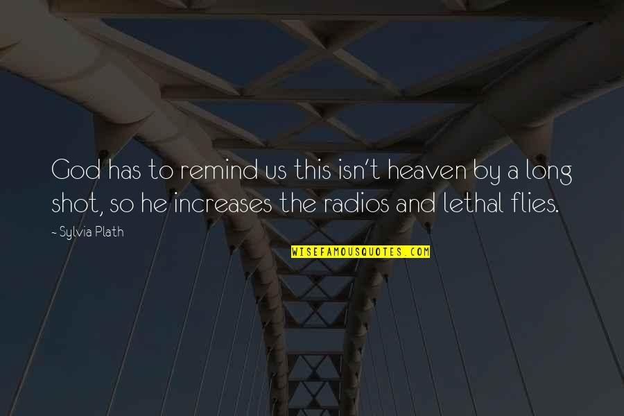 Rocktronica Quotes By Sylvia Plath: God has to remind us this isn't heaven