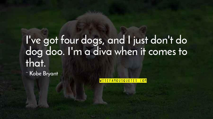 Rocky 2009 Quotes By Kobe Bryant: I've got four dogs, and I just don't