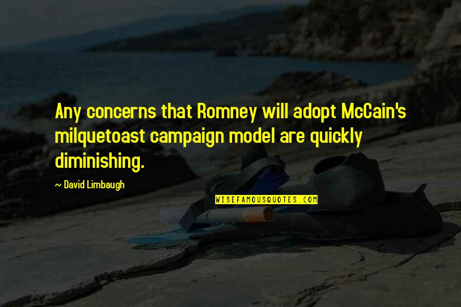 Romney Quotes By David Limbaugh: Any concerns that Romney will adopt McCain's milquetoast