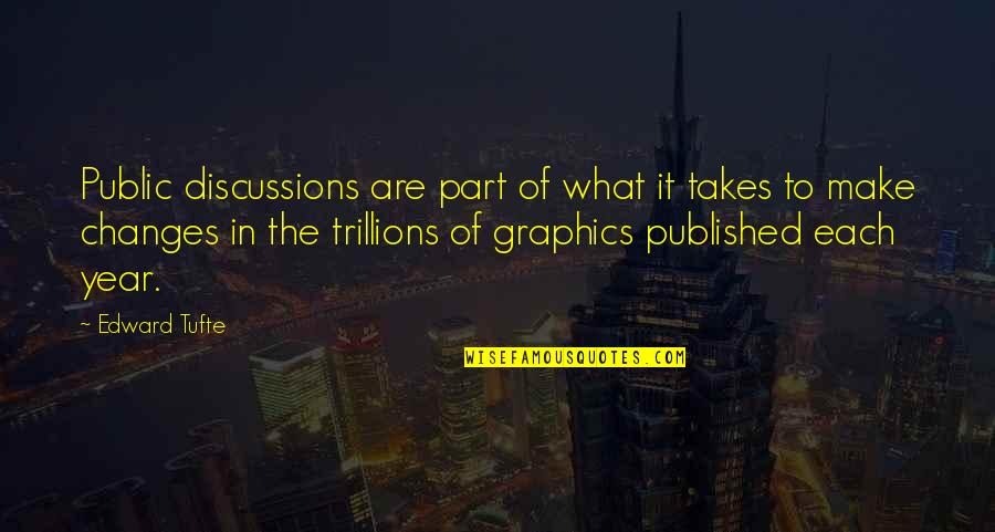 Romuald Hazoume Quotes By Edward Tufte: Public discussions are part of what it takes