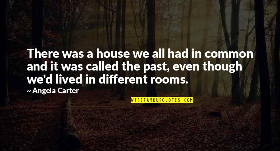 Rooms In A House Quotes By Angela Carter: There was a house we all had in