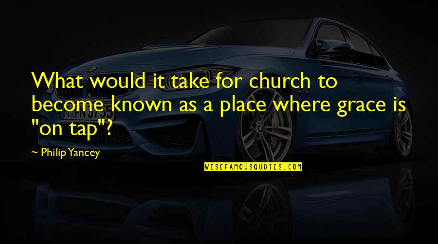 Rotella Golf Quotes By Philip Yancey: What would it take for church to become