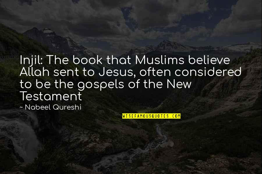 Rustic Holiday Card Quotes By Nabeel Qureshi: Injil: The book that Muslims believe Allah sent