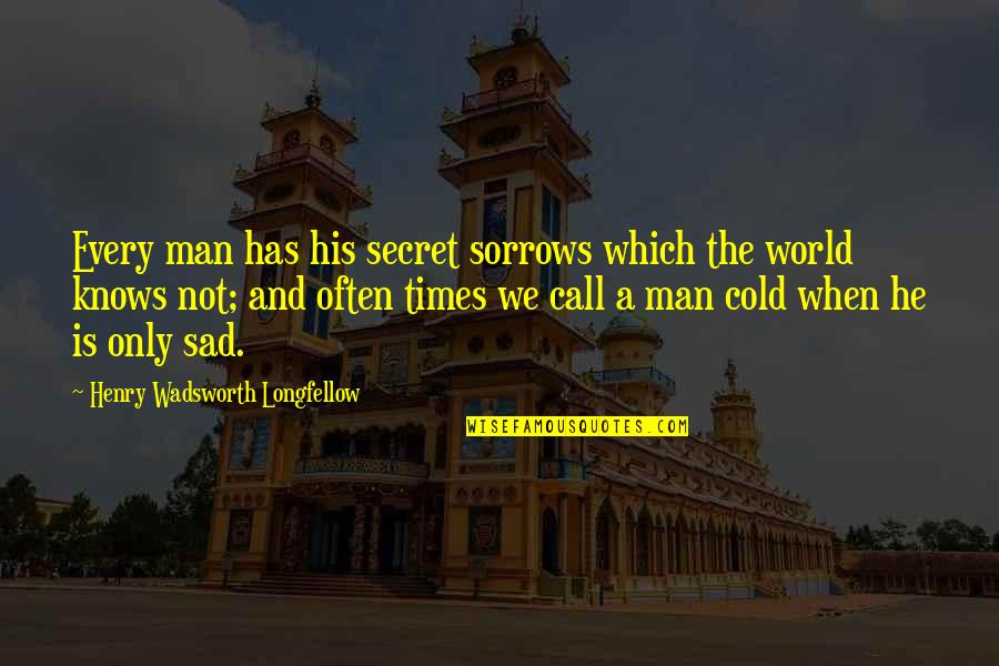 Rything Quotes By Henry Wadsworth Longfellow: Every man has his secret sorrows which the