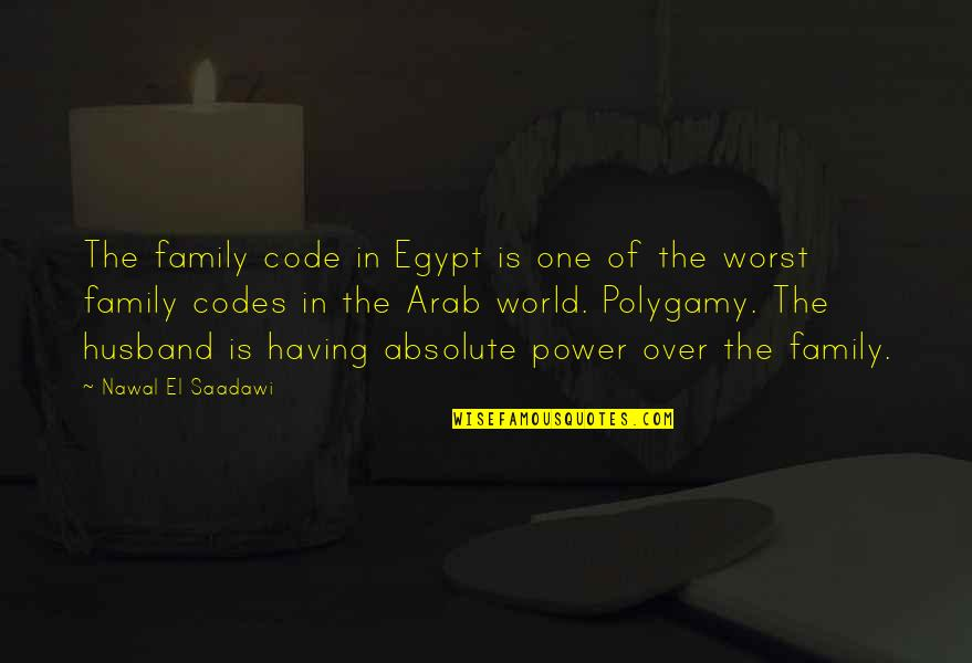 Saadawi Quotes By Nawal El Saadawi: The family code in Egypt is one of