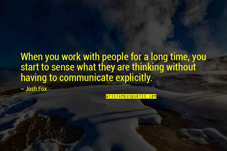 Sashi Kobayashi Quotes By Josh Fox: When you work with people for a long