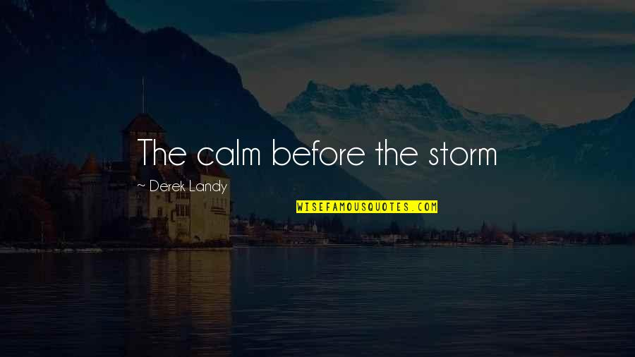 Scala Single Quotes By Derek Landy: The calm before the storm